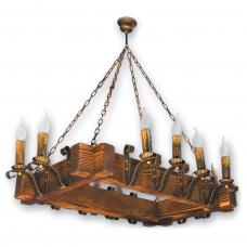 Люстра підвісна 12 свічок Е14 серії Lilia 2709212