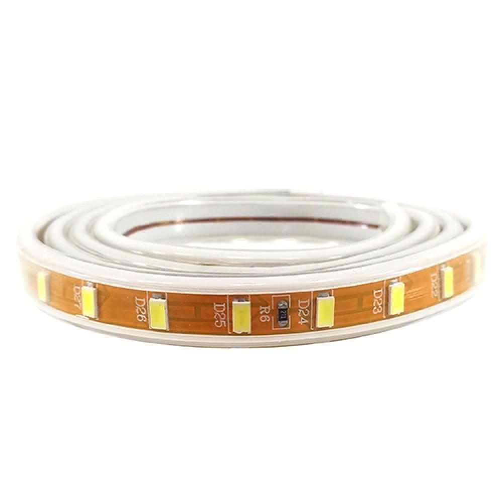 LED стрічка PROlum SMD5730-72 220V IP68 Стандарт БІЛА