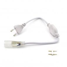 Кабель живлення PROlum для LED стрічки 220В 2835 60 LED IP40