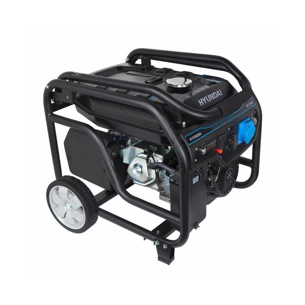 Генератор бензиновий HYUNDAI HHY 7050FE-ATS 5500 Вт