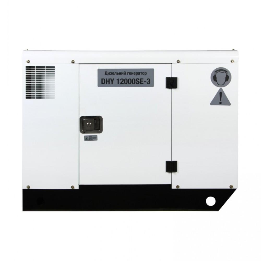 Генератор дизельний HYUNDAI DHY 12000SE-3