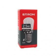 Лампа світлодіодна ETRON Power Light 1-ELP-076 Pigmi 2,5 W 4200K 220V