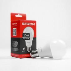 Лампа світлодіодна ETRON Power Light 1-ELP-004 A65 15W 4200K E27