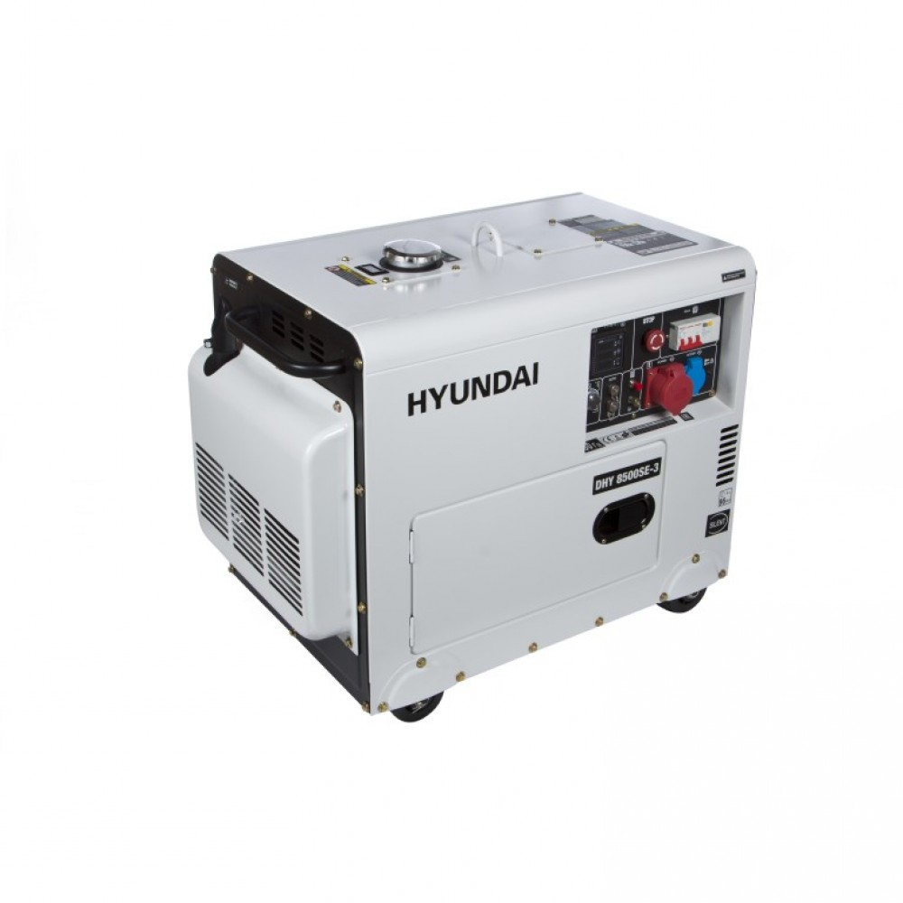 Генератор дизельний HYUNDAI DHY 8500SE-3 7200 Вт