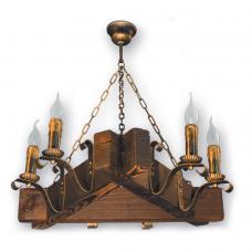 Люстра підвісна 6 свічок Е14 серії Lilia 220926