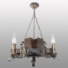 Люстра підвісна 3 свічки Е14 серії Кування Свічка 760323