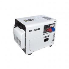 Генератор дизельний HYUNDAI DHY 8500SE-T 7200 Вт