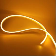 """Світлодіодний неон PROLUM Silicone 2835 120 IP68 12V 6x12 - SERIES """"SM"""" PRO Жовтий"""