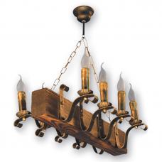 Люстра підвісна 8 свічок Е14 серії Lilia 130928