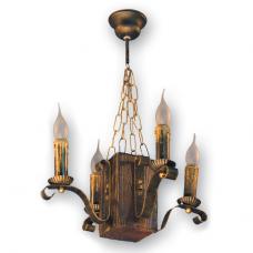 Люстра підвісна 4 свічки Е14 серії Lilia 320924