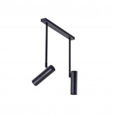Люстра стельова Atma Light серії Chime Pelikan С180-2 Black