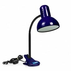 Лампа-прищіпка настільна LOGA E27 висока Зливу