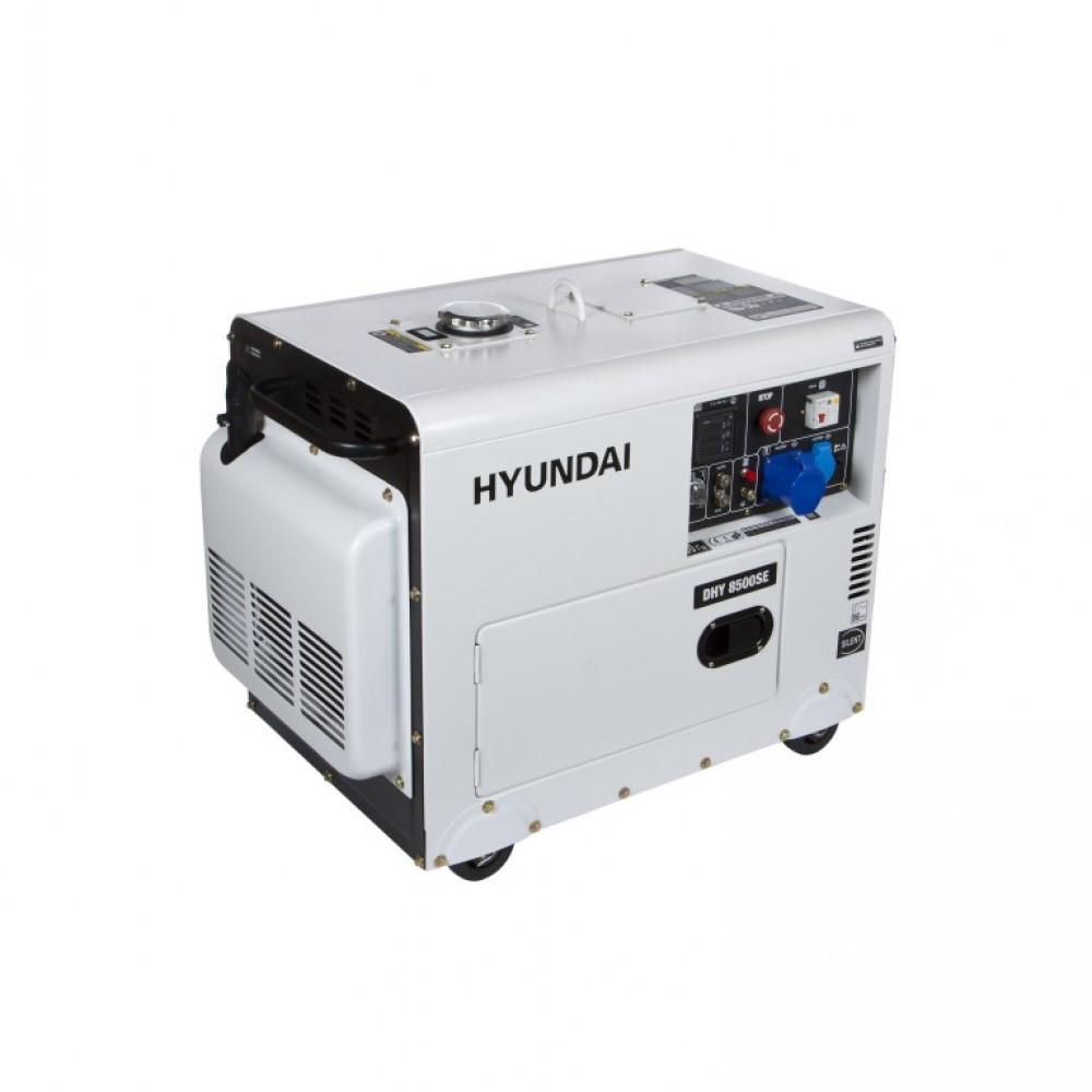 Генератор дизельний HYUNDAI DHY 8500SE 7200 Вт