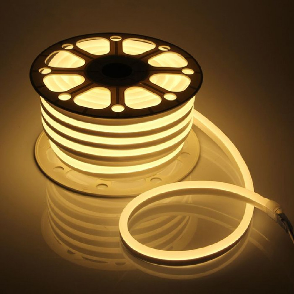 LED Neon PROlum 2835-120 220V IP68 8x16 Преміум Т-Білий