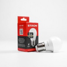 Лампа світлодіодна ETRON Power Light 1-ELP-045 G45 6W 3000K 220V E27