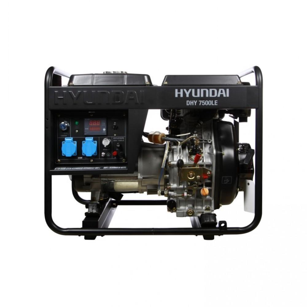 Генератор дизельний HYUNDAI DHY 7500LE 6000 Вт