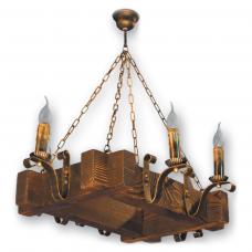 Люстра підвісна 6 свічок Е14 серії Lilia 210926