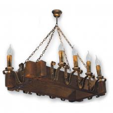 Люстра підвісна 10 свічок Е14 серії Lilia 4109210