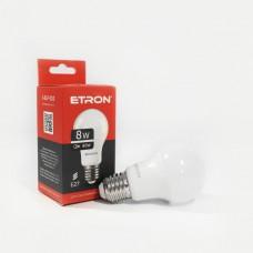 Лампа світлодіодна ETRON Power Light 1-ELP-010 A55 8W 4200K E27