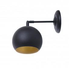 Бра Atma Light серії Shade Bowl W150 BlackM/Gold