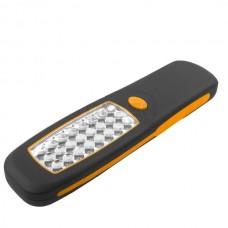 Ліхтар Толсен водонепроникний IP62, плоский пластик 210x58 мм 24-LED 40 лм