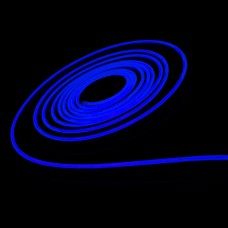 """Світлодіодній неон PROLUM Silicone 2835 120 IP68 12V 6x12-SERIES"""" SM """" PRO Синій"""