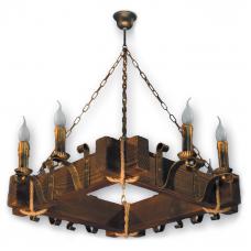 Люстра підвісна 8 свічок Е14 серії Lilia 230928