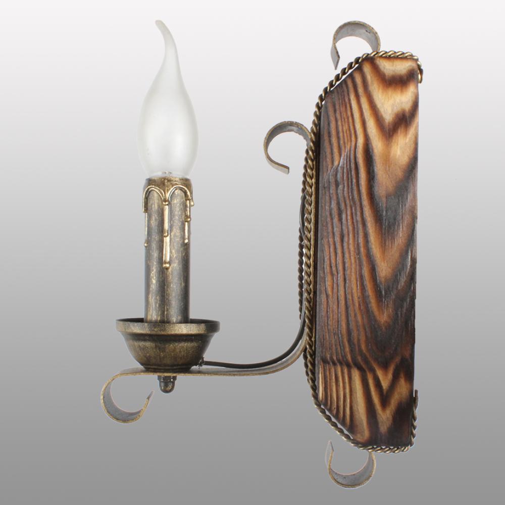 Бра настінне 1 свічка Е14 серії Кування Свічка 670321