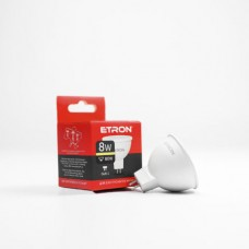 Лампа світлодіодна ETRON Power Light 1-ELP-065 MR16 8W 3000K 220V GU5.3