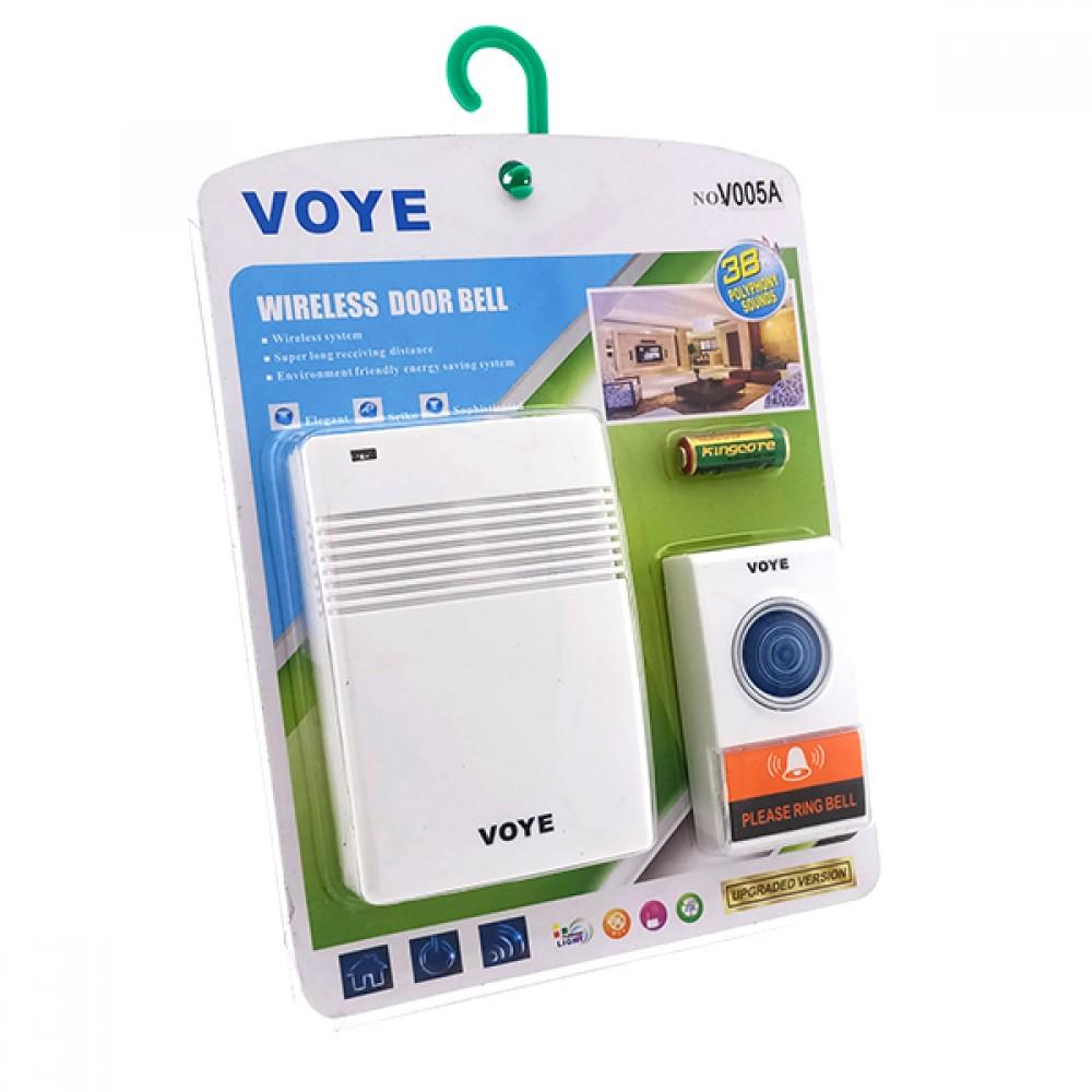 Дзвінок VOYE бездротовий на батарейках (вид асорті)