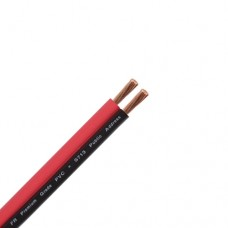 Акустичний кабель Dialan 2х0.75 ССА чорно-червоний