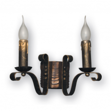 Бра настінне 2 свічки Е14 серії Lilia 120922
