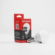 Лампа світлодіодна ETRON Power Light 1-ELP-048 G45 6W 4200K 220V E14
